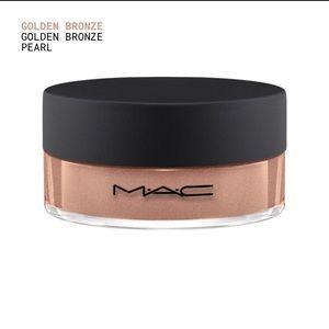 NIB MAC Iridescent Loose Powder Golden Bronze